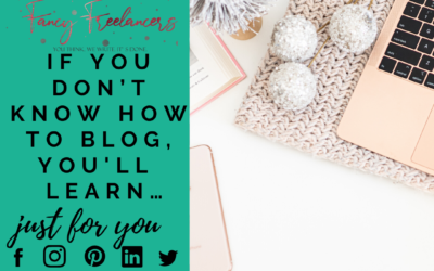 If you don't know how to blog, you should learn…