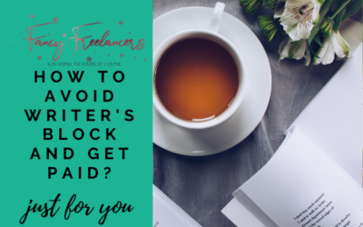 How to avoid writer's block and get paid