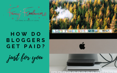 How do Bloggers get paid?
