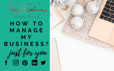 How to manage my business?